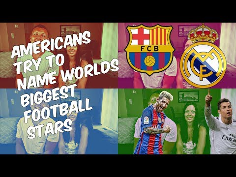 Watch Americans Try and FAIL to Name Europe's Biggest Football (Soccer) Stars! Couple Reacts