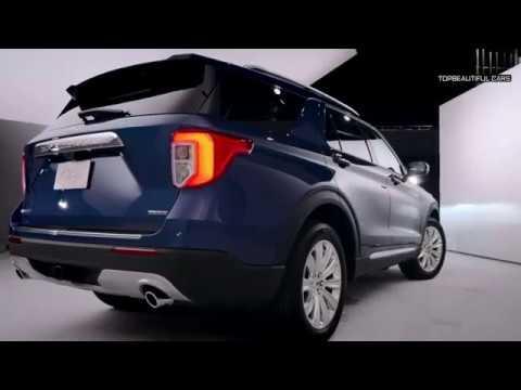 Ford Explorer Hybrid Exterior and Interior