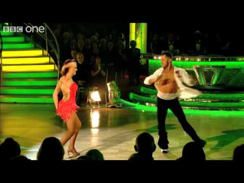 Kara Tointon And Artem Chigvintsev - Strictly Come Dancing 2010, Week 6 - BBC One