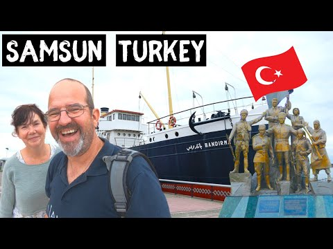 VAN LIFE in SAMSUN. Largest city on Turkey's Black Sea coast