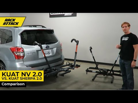 Kuat NV 2.0 versus Kuat Sherpa 2.0 Comparison