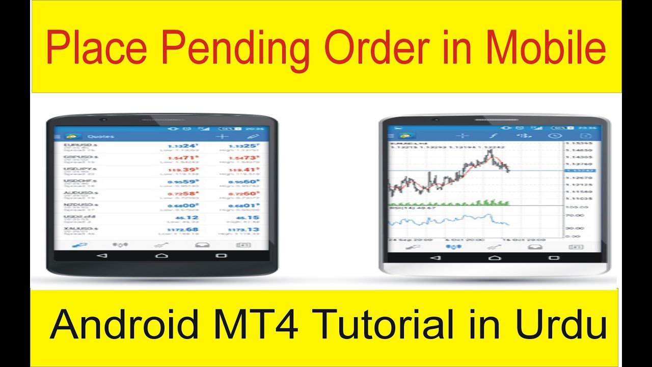 How To Place Pending Order In Meta Trader 4 Mobile Tani Forex
