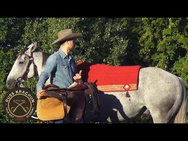 Saddle Preparation - Part 2 - Foundation Program - Russ Krachun Kozak Horsemanship