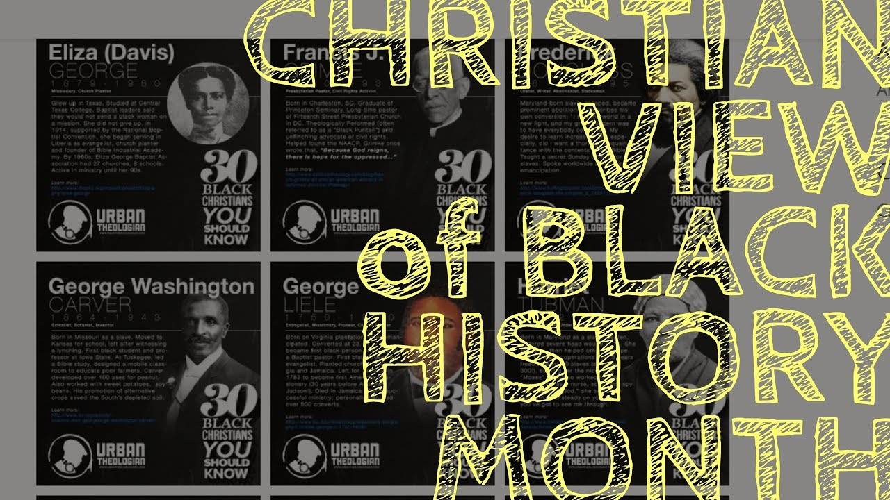 Christian View Of Black History Month Audio  Bible -2033