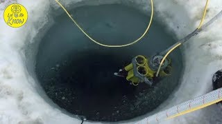 When Two Divers Explored Beneath The Antarctic Ice, They Discovered A Secret Underwater World