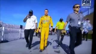 kyle busch joey logano post race fight