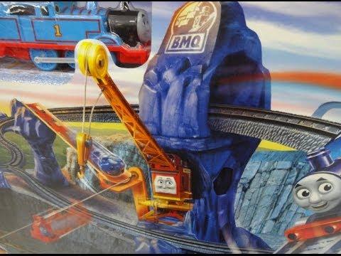 Thomas And Friends Trackmaster Risky Rails Bridge Drop Youtube
