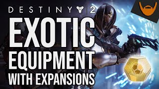Destiny 2 Expansion Exotics / Which Exotics Require DLC to Access?