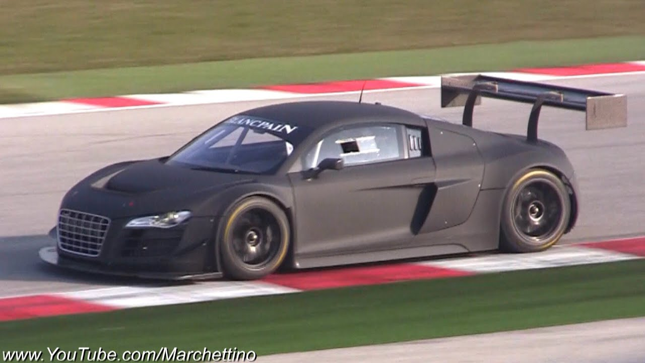 Audi R8 V10 LMS Accelerations & Fly Bys!