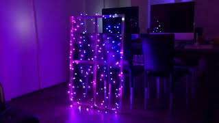 Twinkly Lights first testing and demo on music - Getting ready for Christmas