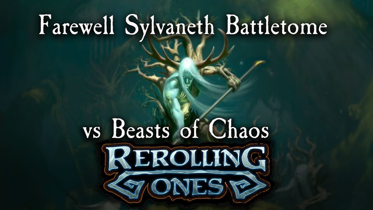 Warhammer: Age of Sigmar Battle Report - Sylvaneth vs Beasts of Chaos