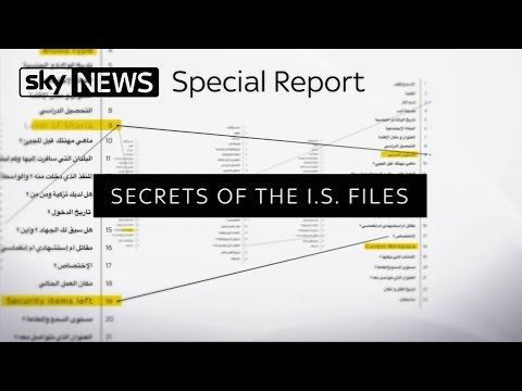 Special Report: Secrets Of The IS Files Obtained By Sky News