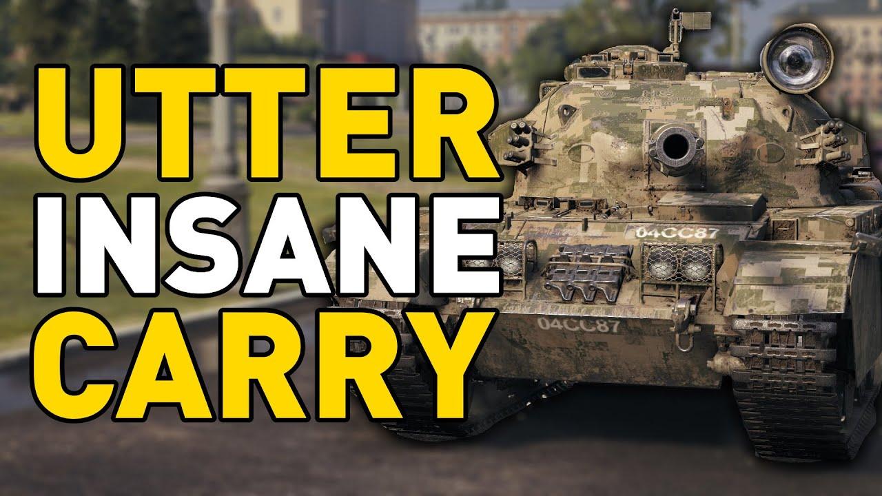 UTTER INSANE CARRY - World of Tanks thumbnail