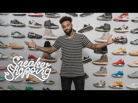 buy online b7c31 a0028 Jarvis Landry Goes Sneaker Shopping With Complex
