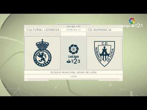 Previa Cultural Leonesa vs CD Numancia
