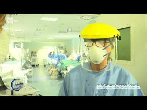 Gli ospedali di Bergamo - Porta a porta 24/03/2020