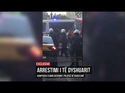 Sulmi në Barcelonë, shqiptarja filmon ndalimin e të dyshuarit - Top Channel Albania - News - Lajme