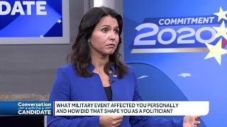 'Conversation with the Candidate' with Tulsi Gabbard: Online exclusive