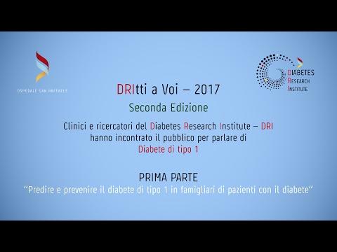 """DRItti a Voi 2017 - Parte 1: """"Predire e prevenire il diabete di tipo 1"""""""