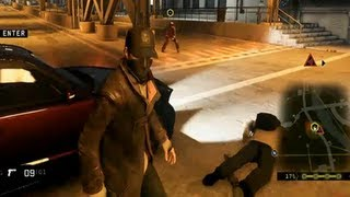 Watch Dogs PS4 Gameplay (E3 2013 Sony Press Conference)  【HD】