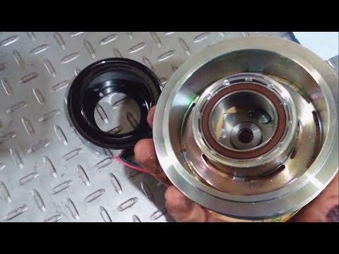 2007-2014 CR-V A/C compressor clutch installation and diagnosis