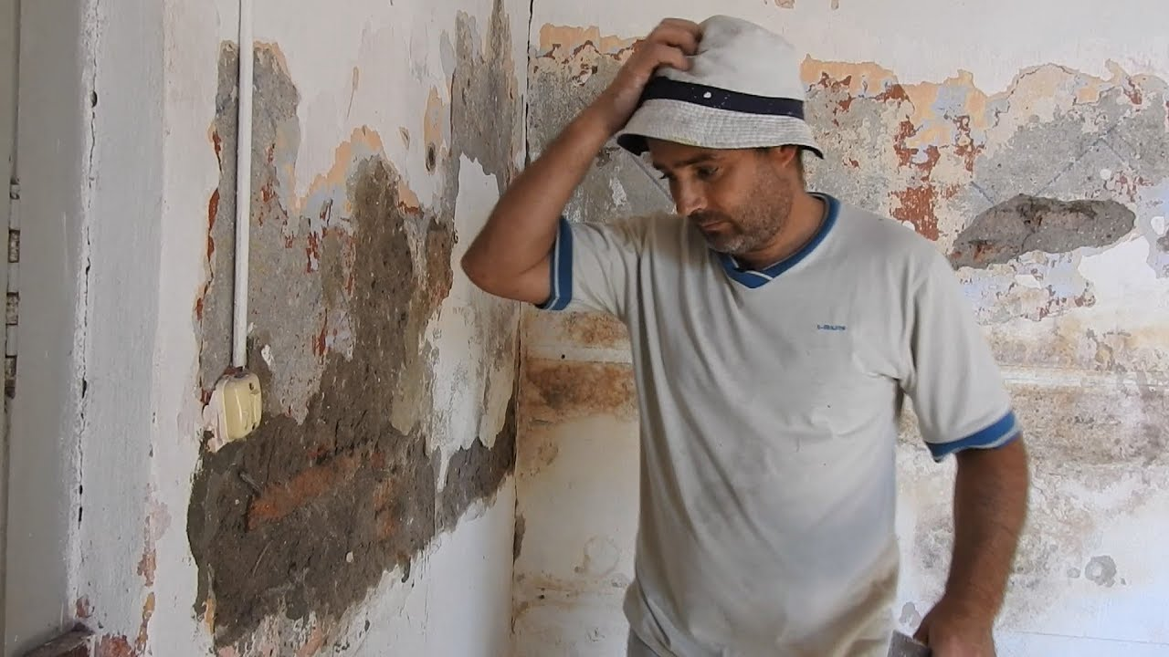 Revoques en paredes con humedad youtube - Humedad por condensacion en paredes ...