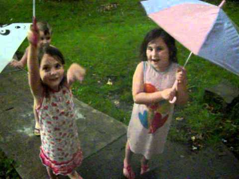 If All The Raindrops - American Children's Songs - The USA