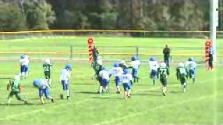 kalkaska pop warner game 4 2010 midgets thumbnail