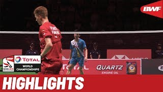 TOTAL BWF World Championships 2019 | Semifinals MS Highlights | BWF 2019