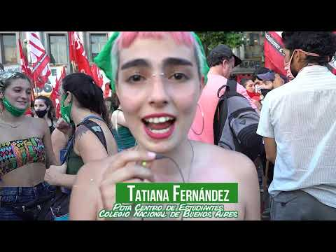 #AbortoLegal2020 en Argentina: reporte desde las calles de Buenos Aires