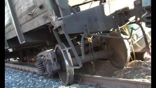 На станции Бердяуш поезд сошел с рельс