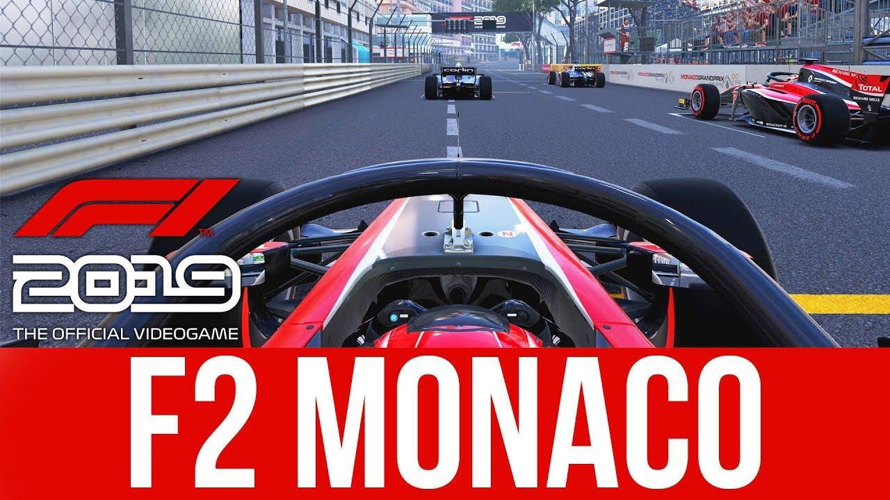 F1 2019 Gameplay - F2 Monaco Race (EXKLUSIV NEU) + video