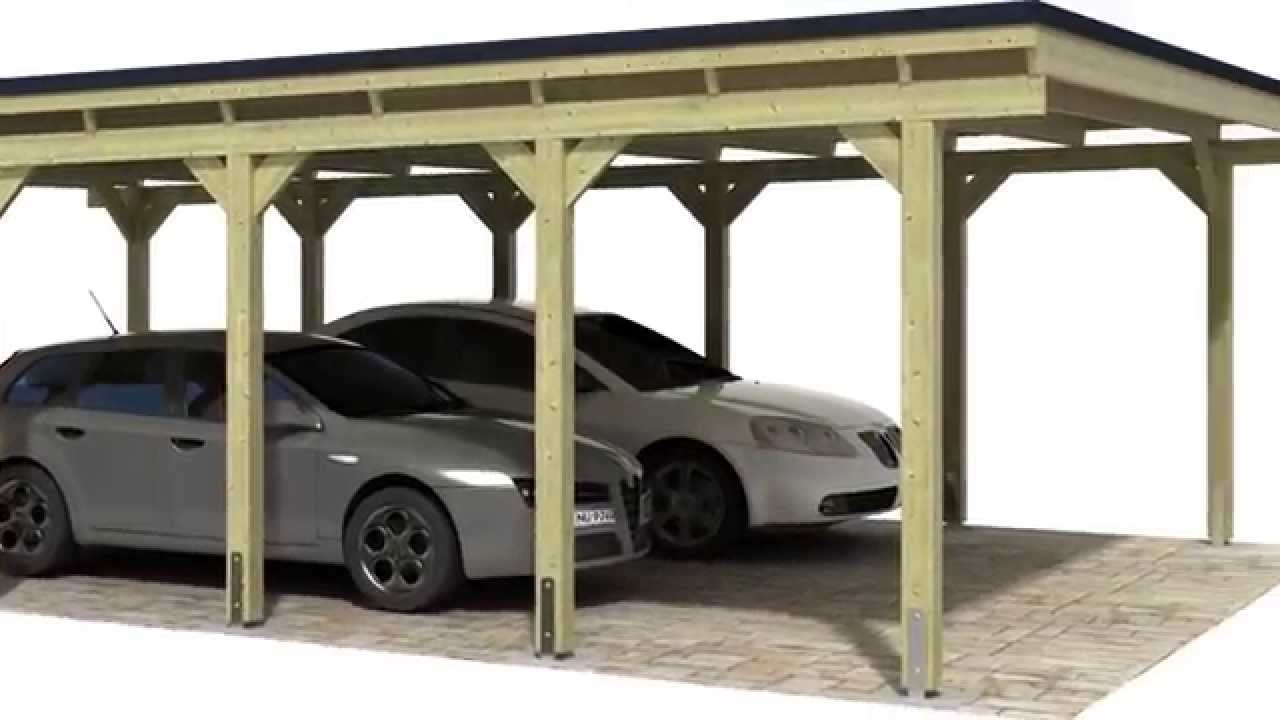 Montage d 39 un carport version courte youtube - Montage d un carport ...