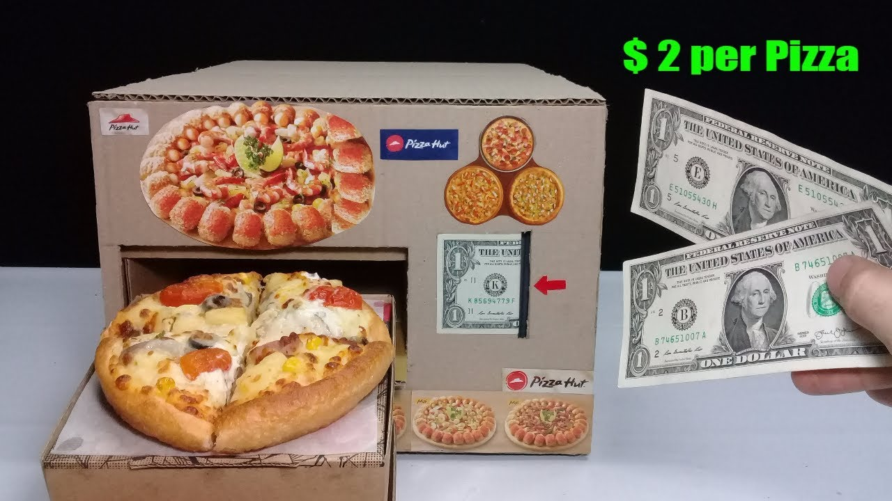 amazing 2 per pizza how to make pizza vending machine. Black Bedroom Furniture Sets. Home Design Ideas