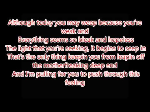 Eminem Beautiful Pain ft  Sia Lyrics On Screen  MMLP2