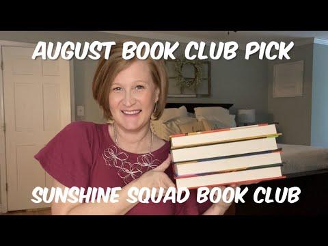 August Book Club Pick | Sunshine Sqaud Book Club