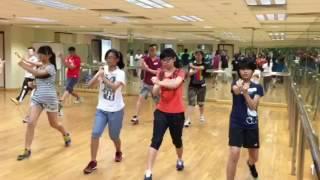 王瑞强師傅 元朗趙聿修紀念中學 詠春日字衝拳 (2015-0