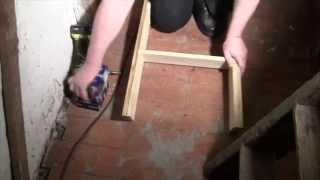 A simple loft ladder anyone can build