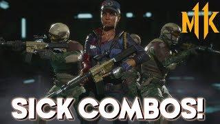Sick Combos And Adjustments! | Sonya Series #2 Mortal Kombat 11 Online