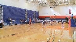 NJCAA Region 15 Women's Volleyball Semi-Finals: Queensborough vs. Monroe College (10/25/2019)