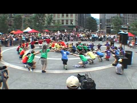 Flash Mob - Downtown Market Square - Pittsburgh, PA