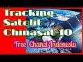 Tracking Satelit Chinasat-10 C Band