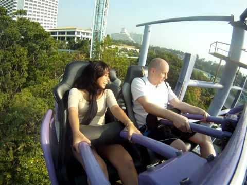 Slalom Coaster - Pattaya Park - Thailand