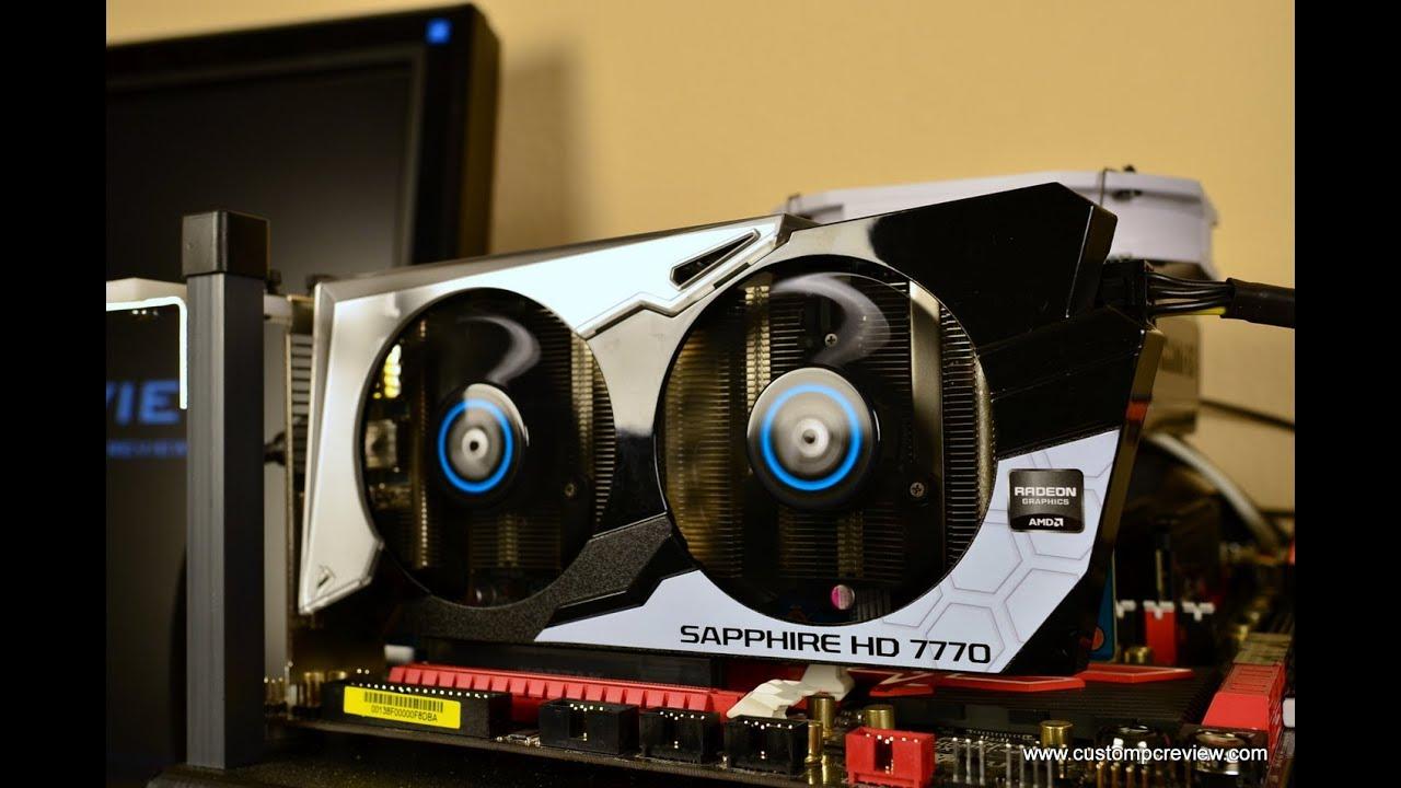 Sapphire HD7770 GHz Edition Vapor-X Review   Custom PC Review