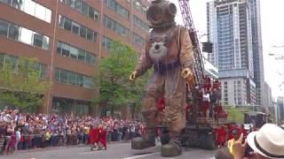 Les géants Royal De luxe @ Montréal 21/05/2017