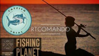 """Fishing Planet Campeonato CatFish Trial(Sunny) """" Desafio de Bagre (Sol)"""" PS4"""