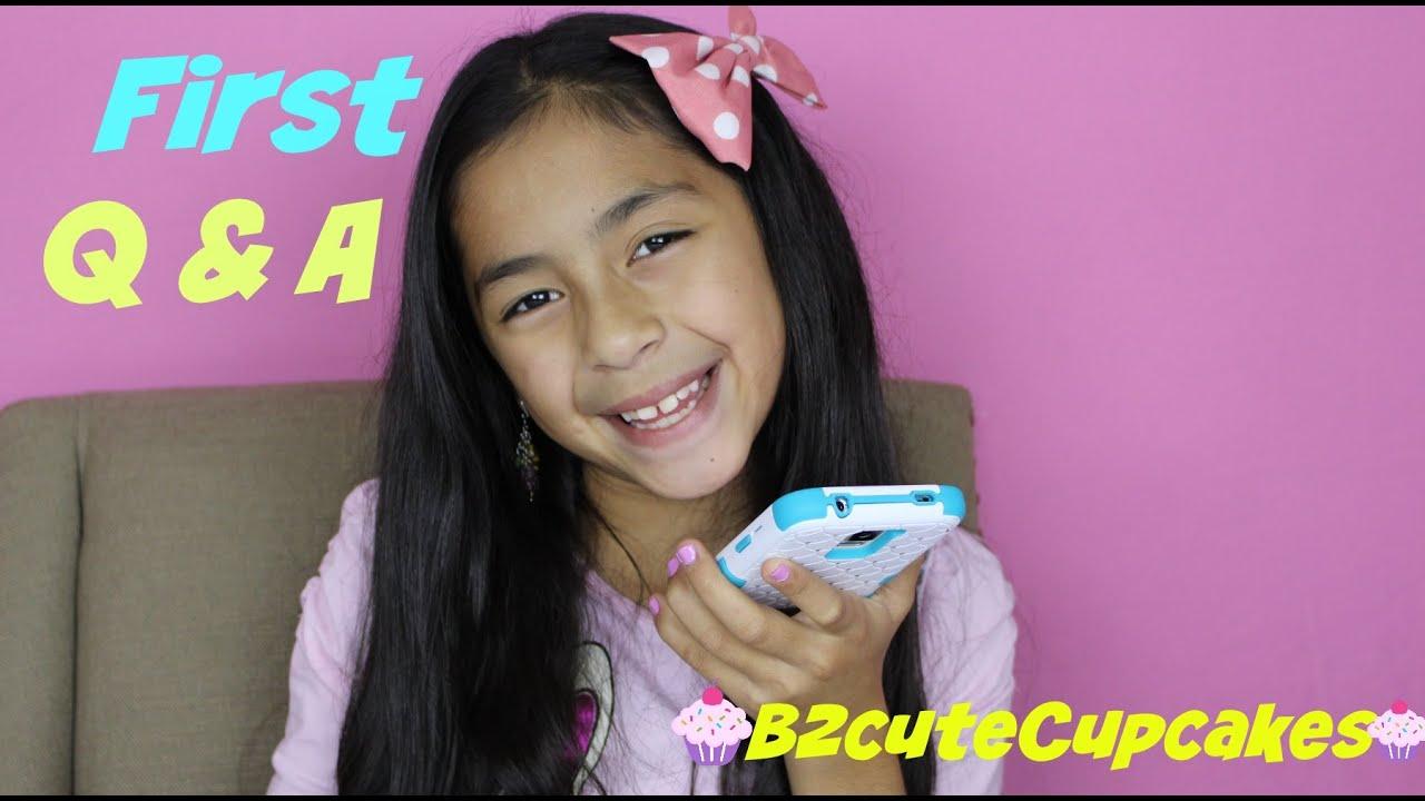 First Q & A | B2cutecupcakes - YouTube