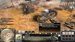 Company of Heroes 2 Online Skirmish Moscow Outskirts (Lend Lease Tactics)