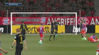 PES 2015 Bundesliga Patch FC Bayern München vs Borussia Dortmund [PC] [Gameplay] [HD+]