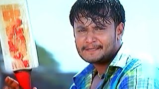 Darshan playing cricket with his Friends | Kannada Junction